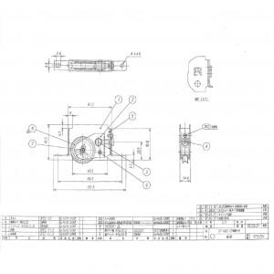調整戸車 CF-60Sの図面