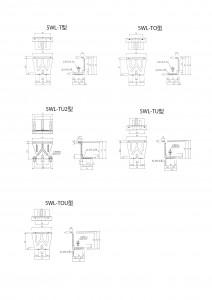 面格子アンカー(四方枠用)の図面